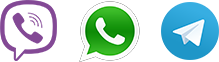 Viber - WhatsApp - Telegram